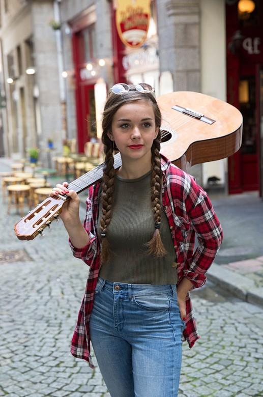 Portrait d'adolescente