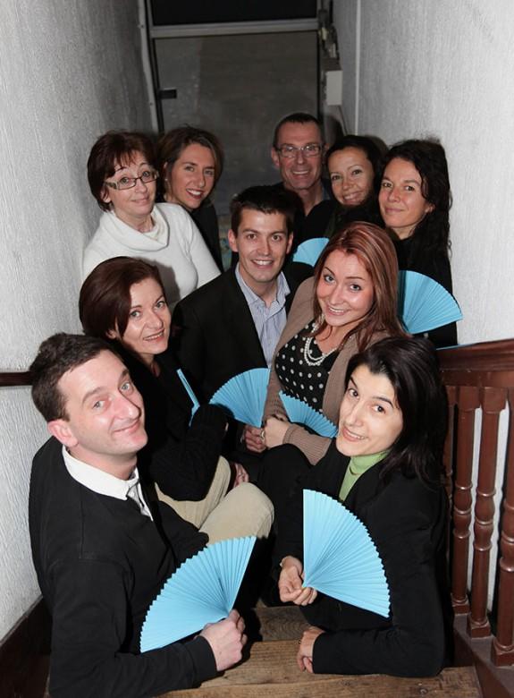 Portrait d'équipe, monde de l'entreprise
