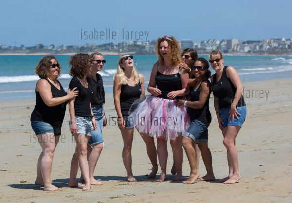 groupe filles mariage photo