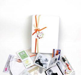 BOX PHOTO cadeau naissance femme enceinte retraite