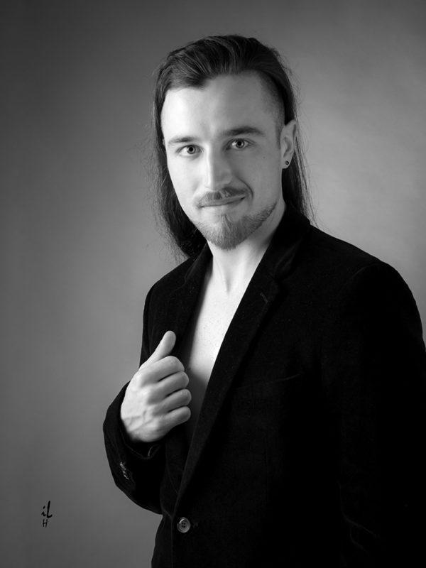 Photo de profil Facebook, Linkedln, Homme, portrait